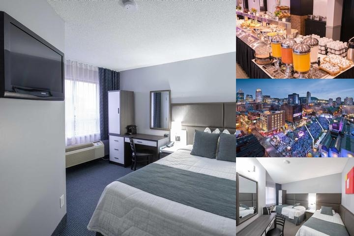 Travelodge Montreal Centre photo collage