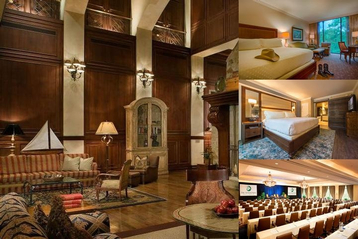 Houstonian Hotel Club & Spa photo collage