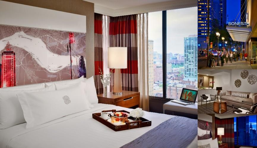 Sonesta Philadelphia Rittenhouse Square photo collage