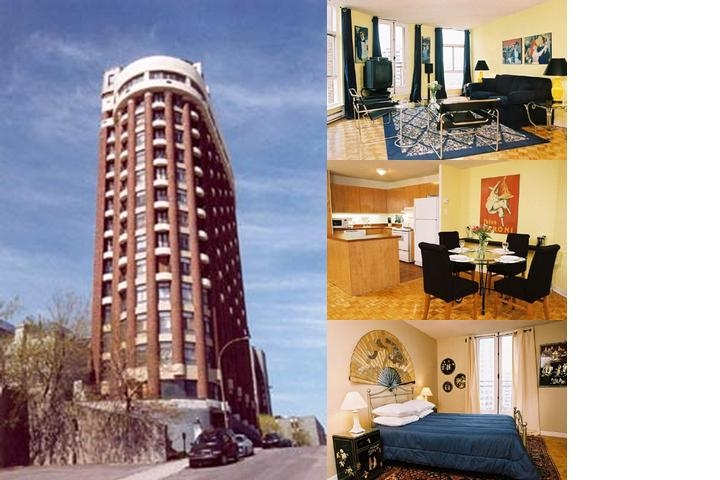 Le 450 Sherbrooke photo collage