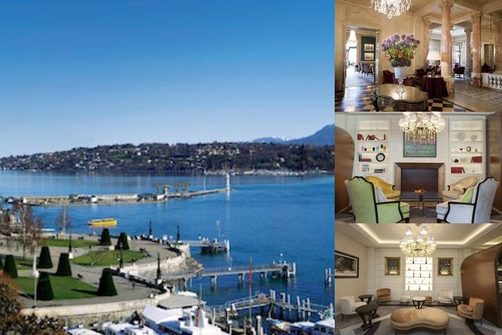 Beau Rivage Geneva photo collage