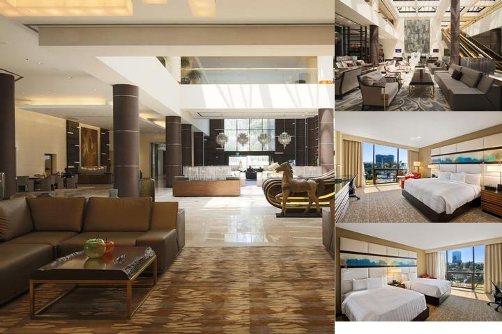 The La Hotel Downtown Hyatt Affiliate photo collage