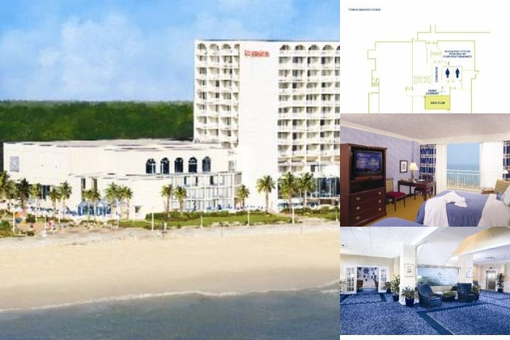 Sheraton Oceanfront Hotel photo collage