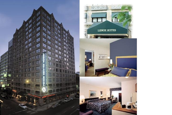 Lenox Suites photo collage