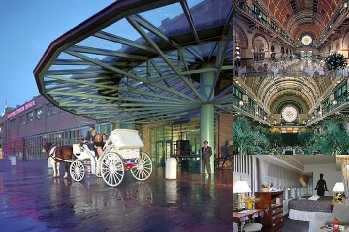Crowne Plaza at Historic Union Station photo collage