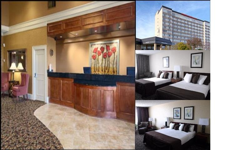 Howard Johnson Plaza Hotel photo collage