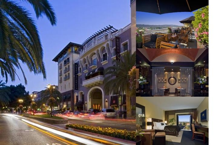 Hotel Valencia Santana Row photo collage