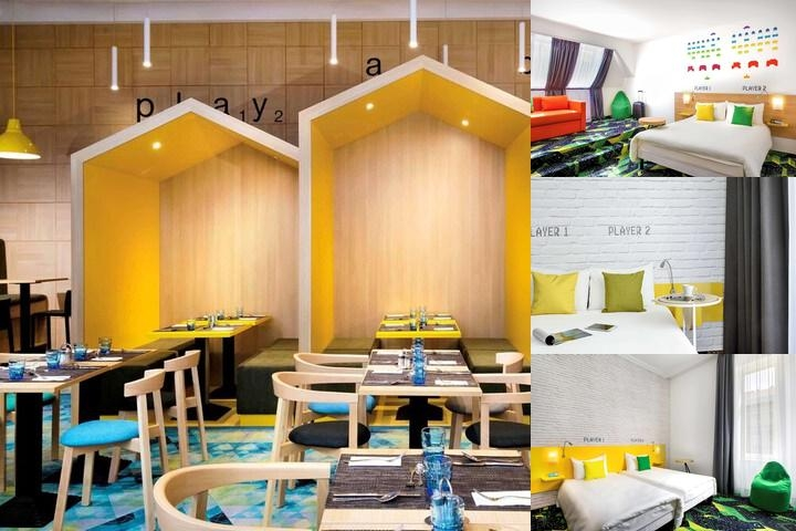 Ibis Styles Budapest Center photo collage