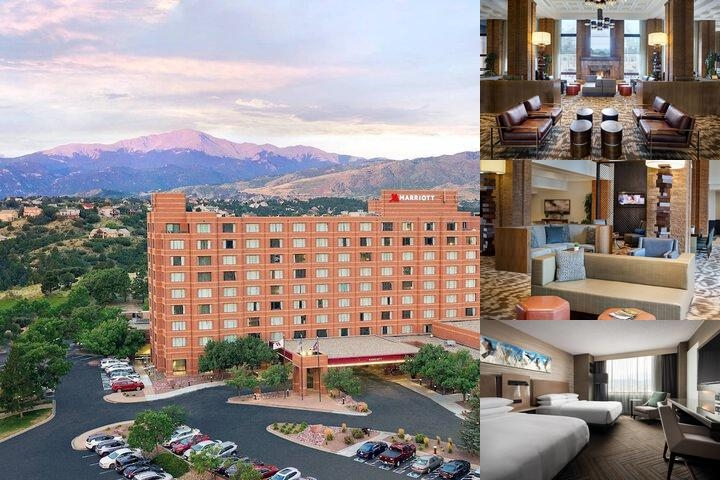 Colorado Springs Marriott photo collage