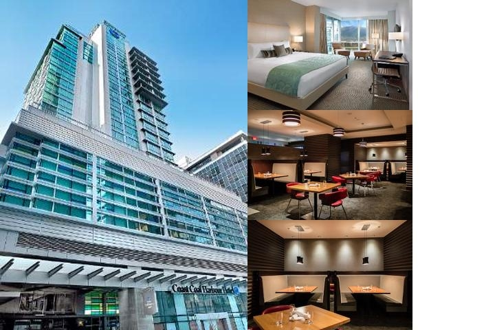 Coast Coal Harbour Hotel photo collage