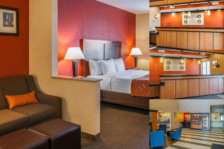 Comfort Suites Fishers photo collage