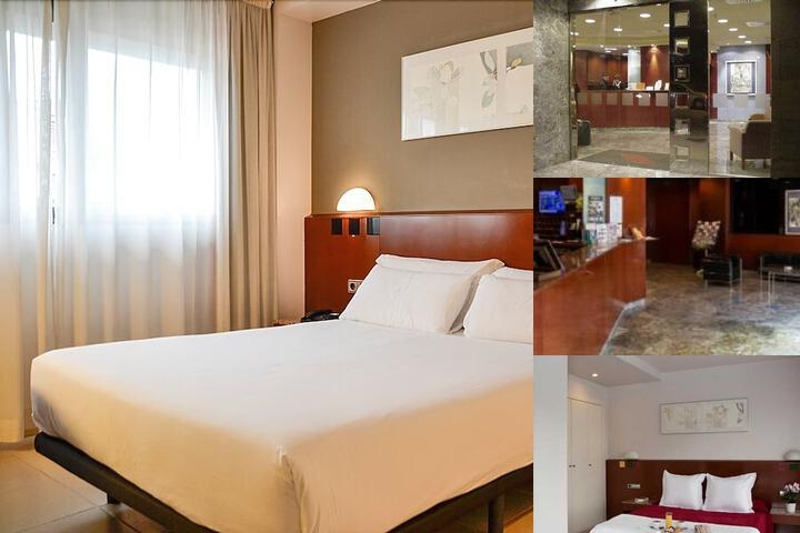 Amrey Sant Pau Hotel photo collage