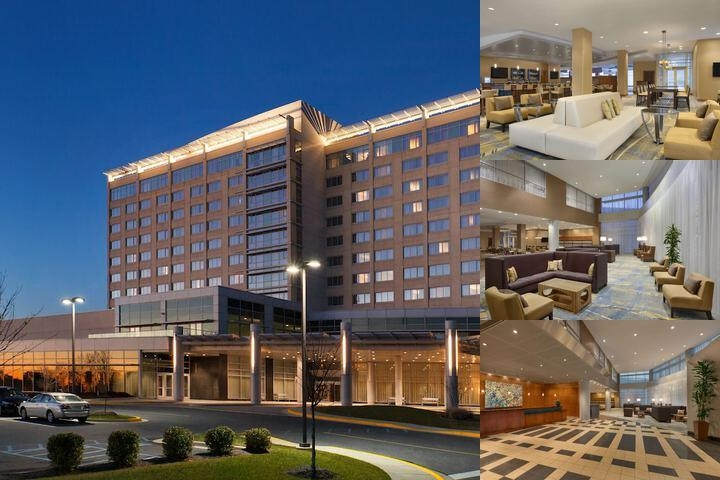 Hilton BWI Airport photo collage