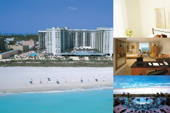 Roney Palace Beach Resort photo collage