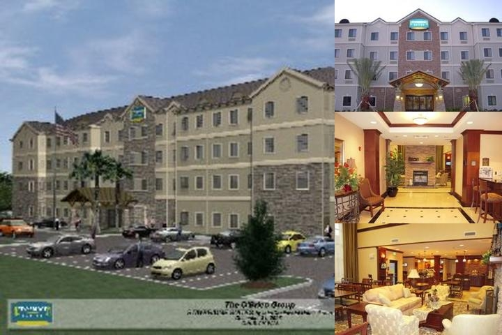 Staybridge Suites Lafayette photo collage
