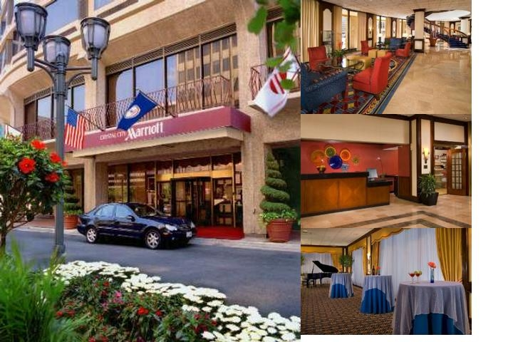 Marriott Crystal City photo collage