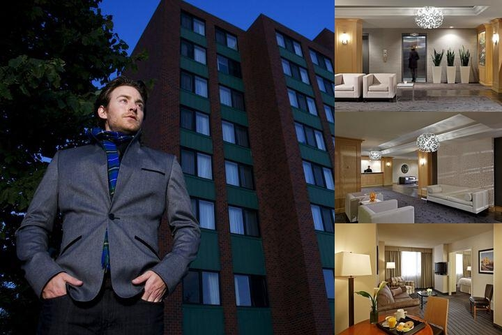 Cambridge Suites Hotel photo collage