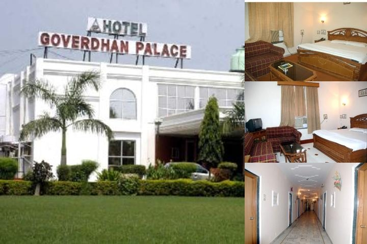 Hotel Goverdhan Palace photo collage