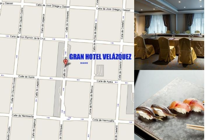 Gran Hotel Velazquez photo collage
