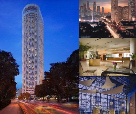 Swissotel The Stamford photo collage