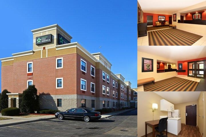 Extended Stay America Chicago Skokie photo collage