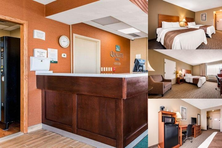 Quality Inn New Castle photo collage