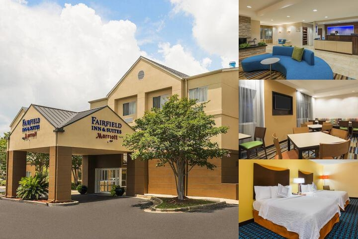 Fairfield Inn & Suites by Marriott Mobile photo collage