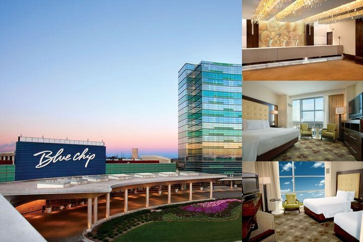 Blue Chip Casino Hotel Spa photo collage