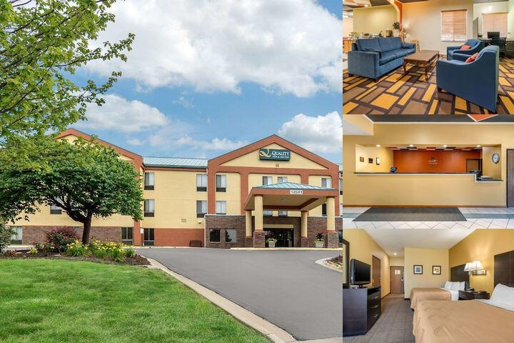 Quality Inn & Suites Lenexa photo collage