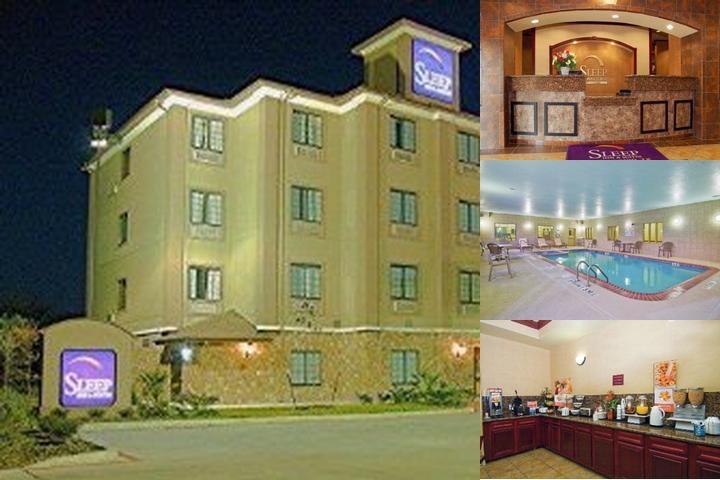 Sleep Inn & Suites at Six Flags photo collage