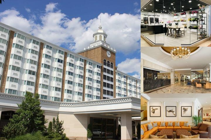 Garden City Hotel photo collage