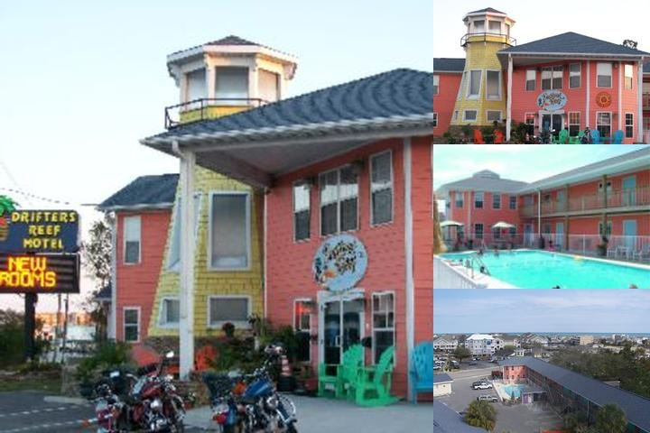 Drifters Reef Motel photo collage