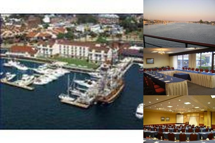 The Newport Harbor Hotel & Marina photo collage