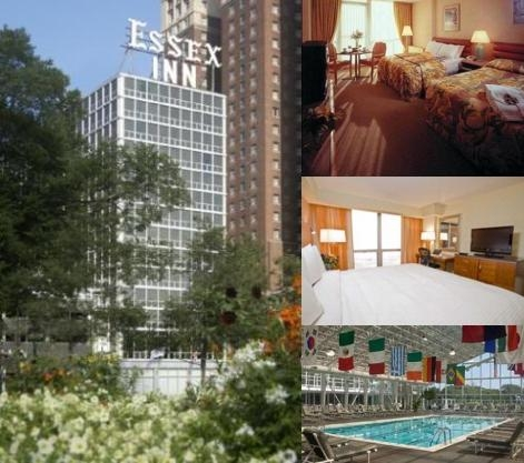 Chicago's Essex Inn photo collage