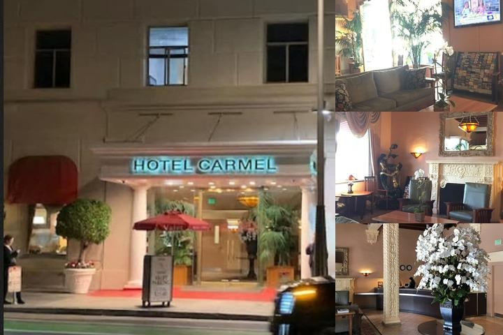 Hotel Carmel photo collage