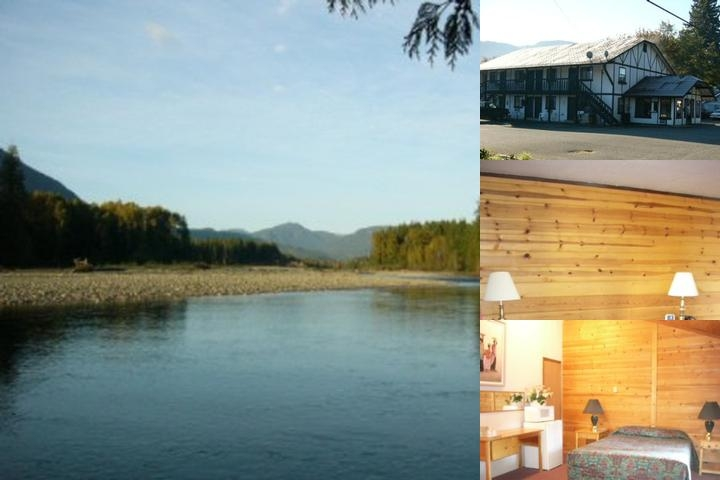 Packwood Inn photo collage