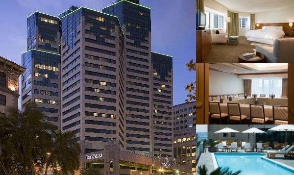 The Westin San Diego photo collage