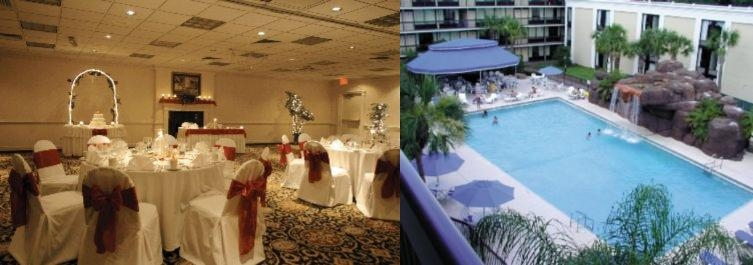 Howard Johnson Plaza Hotel Altamonte Springs Waterfall & Pool