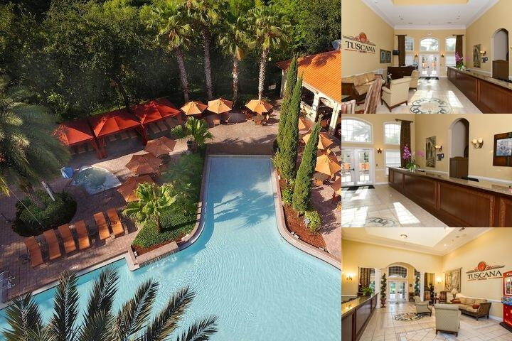 Tuscana Resort Orlando photo collage