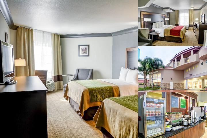 Comfort Inn & Suites North Hollywood photo collage
