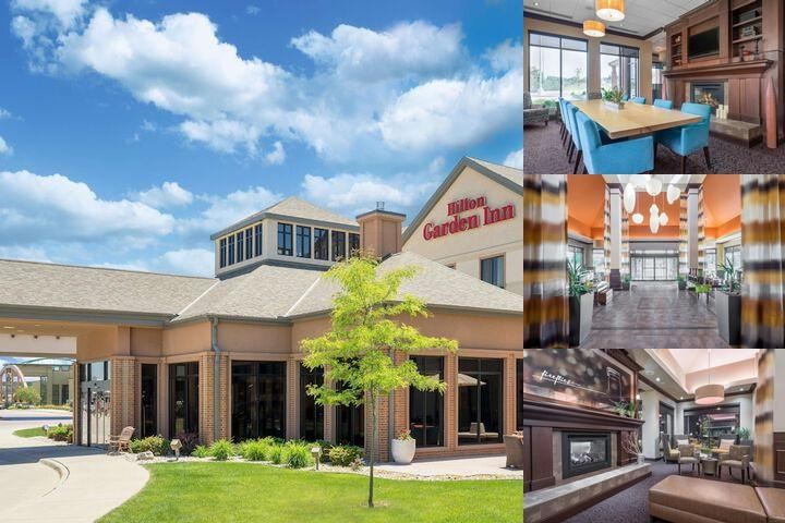 Hilton Garden Inn Sioux City Riverfront photo collage