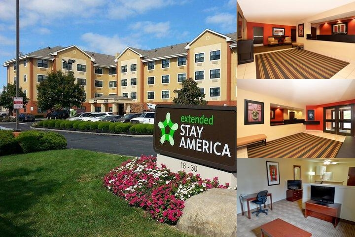 Extended Stay America New York City Laguardia Ai photo collage