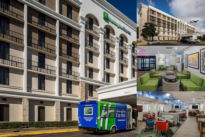 Holiday Inn Express Atlanta Airport College Park photo collage