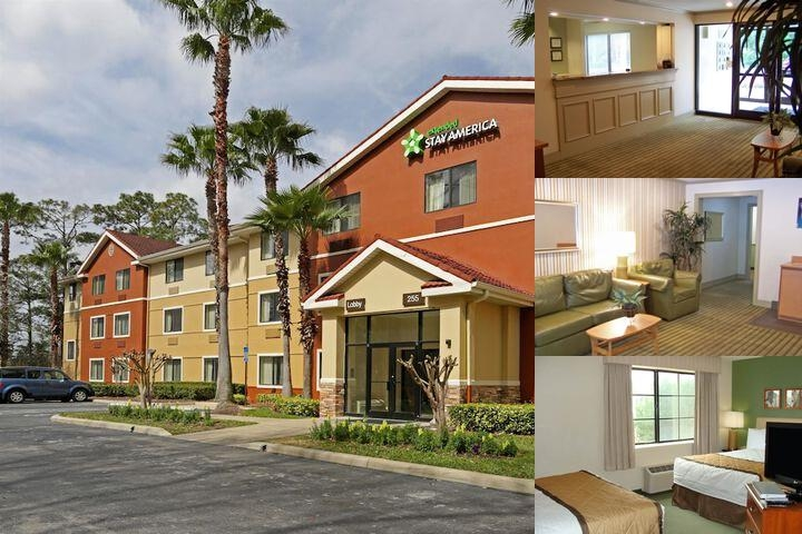 Extended Stay Deluxe Daytona photo collage