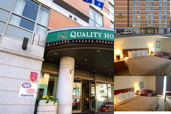 Quality Hotel Montreal photo collage