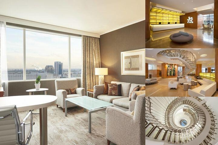 The Westin Warsaw photo collage