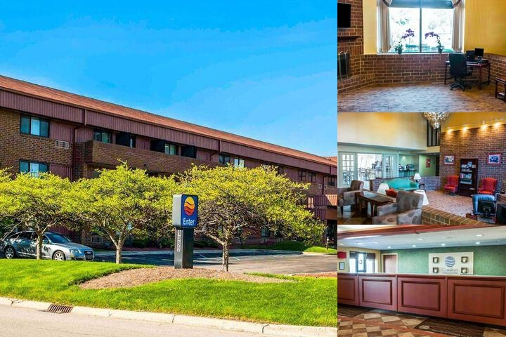 Comfort Inn & Suites North at the Pyramids photo collage