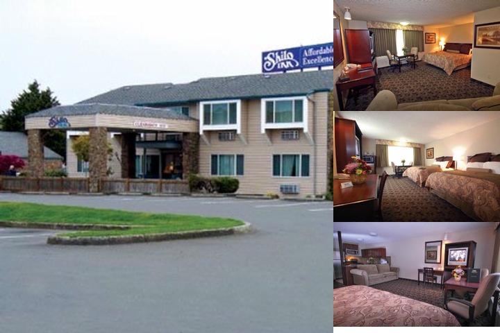 Shilo Inn & Suites Salmon Creek / Vancouver Washin photo collage