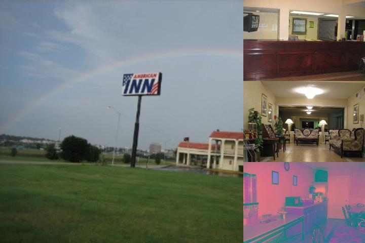 American Inn photo collage
