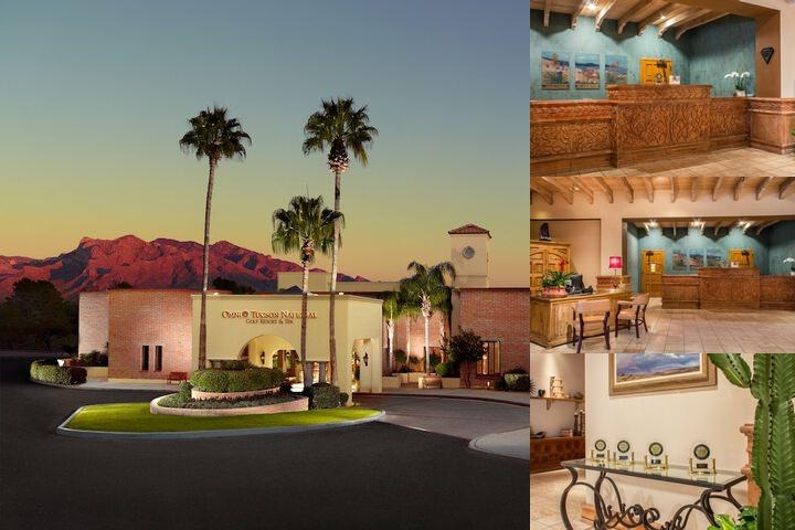 Omni Tucson National Resort photo collage